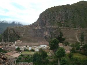 Inca Fort at Ollantaytambo