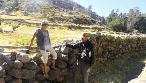 Caminata entre Chipao y Sondondo