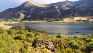 Laguna en Aucara